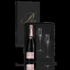 Champagne Palmer Rosé Solera in Giftbox met 2 glazen