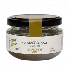 Groene olijven tapenade - La Masrojana